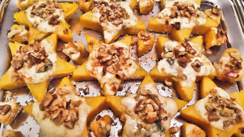 Antipasti Di Natale Con Polenta.Polenta Con Gorgonzola E Noci Ricette Idee Alimentari Polenta