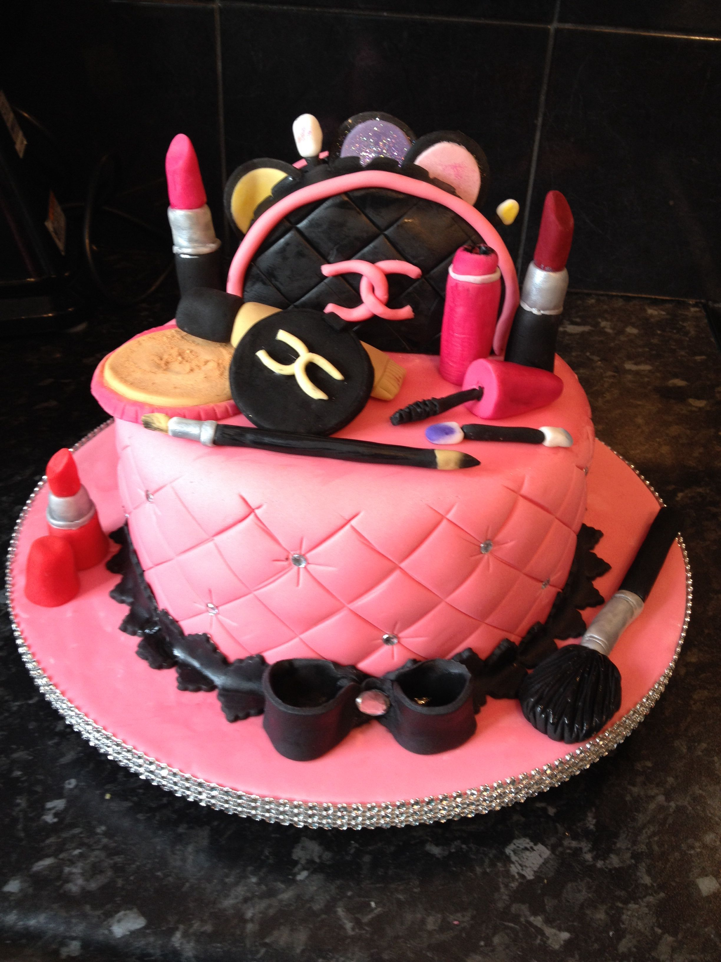 My Daughters 14th Birthday Cake Made By Me With Help From Daughter X Happy Babe Xx