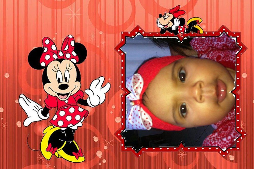 Montagem De Fotos Minnie Vermelha Com Imagens Montagem De Foto