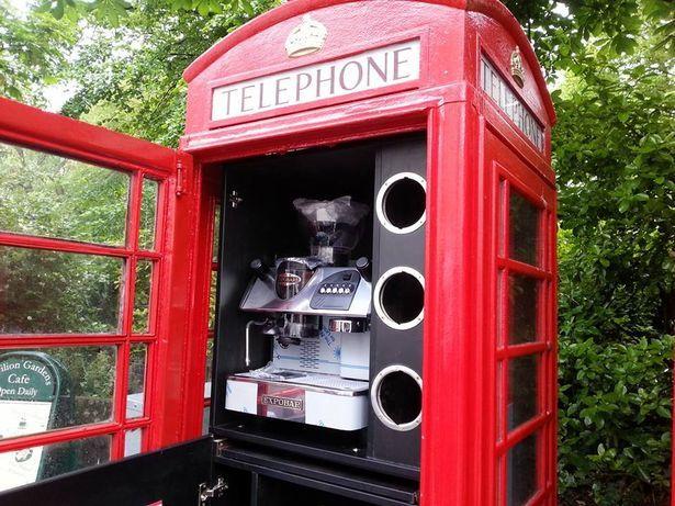 Red Phone Box Telephone British Design K6 Restoration Upcycle
