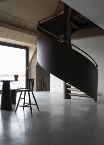 Best Black Iron Spiral Staircase Remodelista Staircase Design 400 x 300