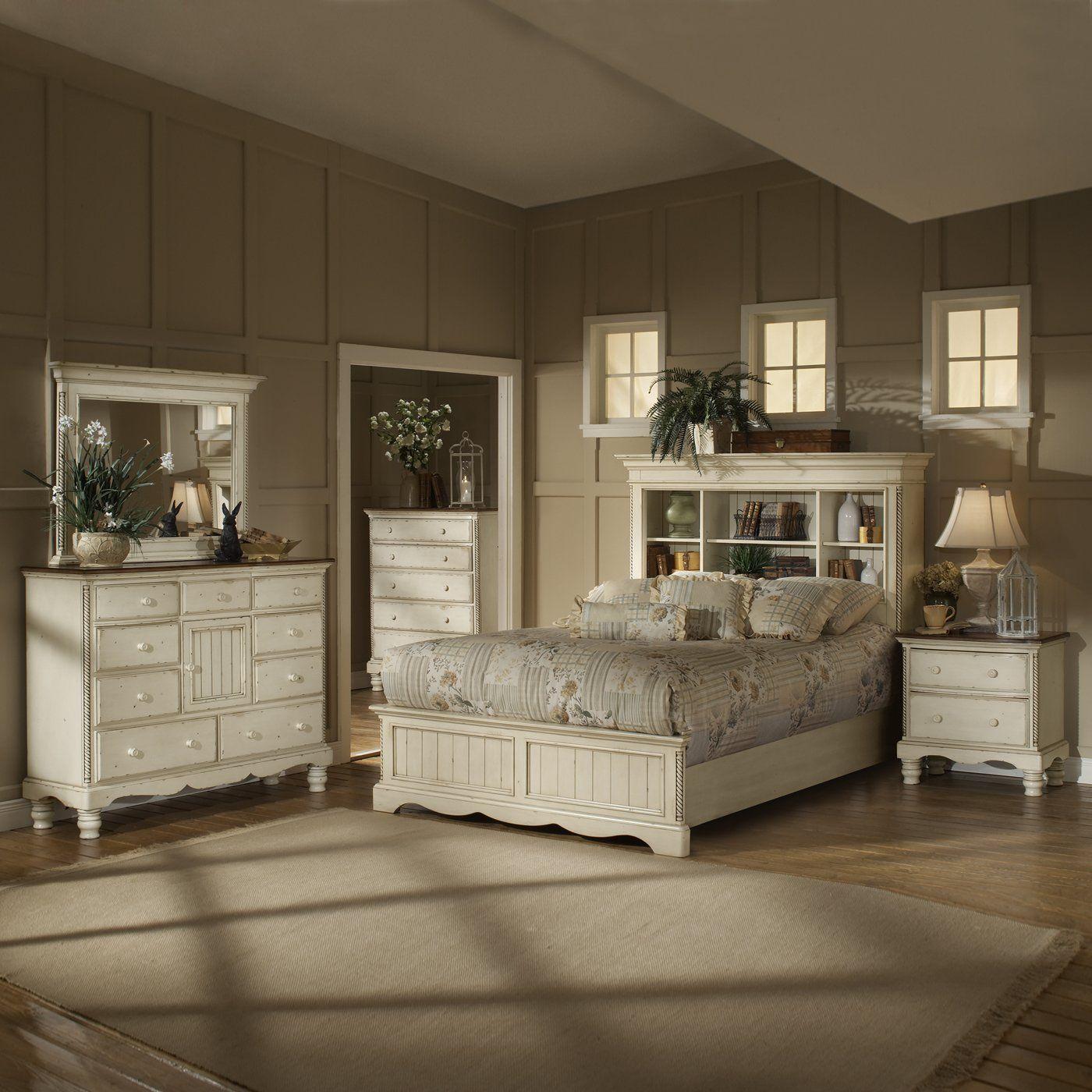 Hillsdale Furniture 1172 Wilshire Bookcase Headboard