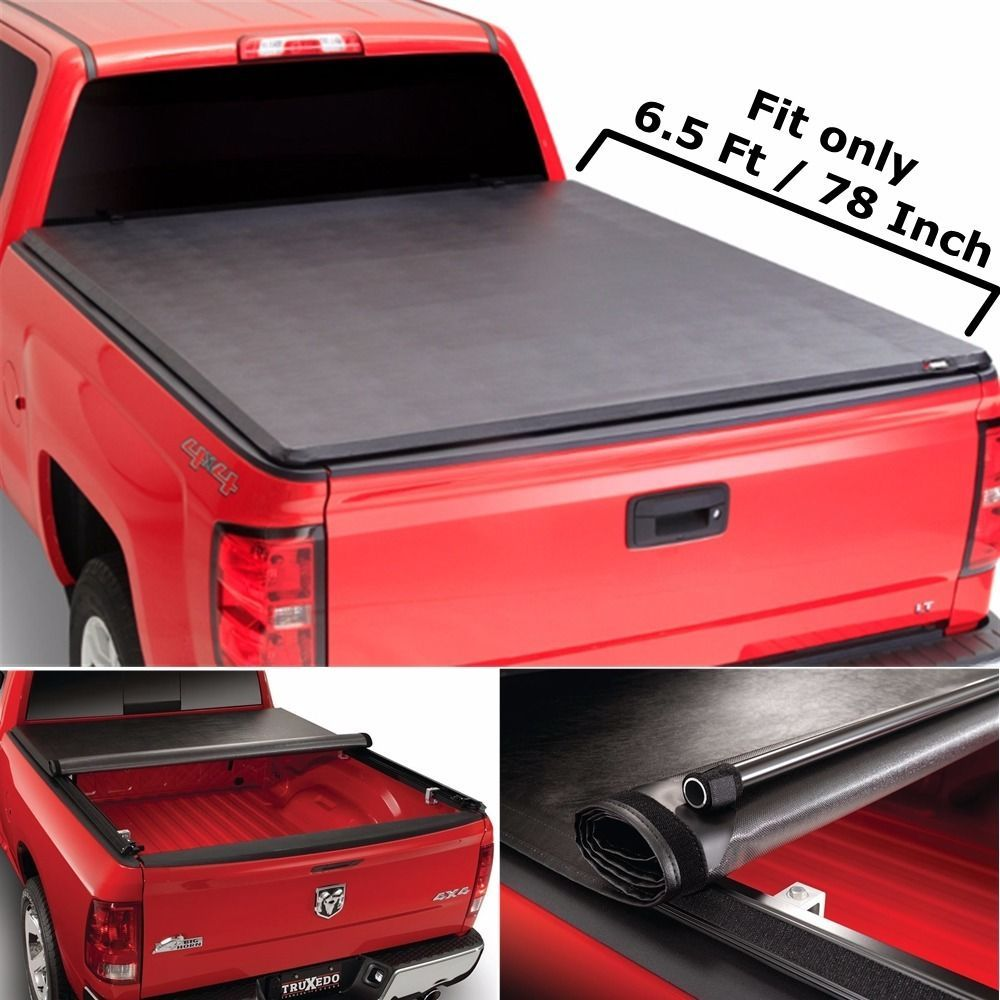 Roll&Lock Soft Retractable Tonneau Cover For 19972003
