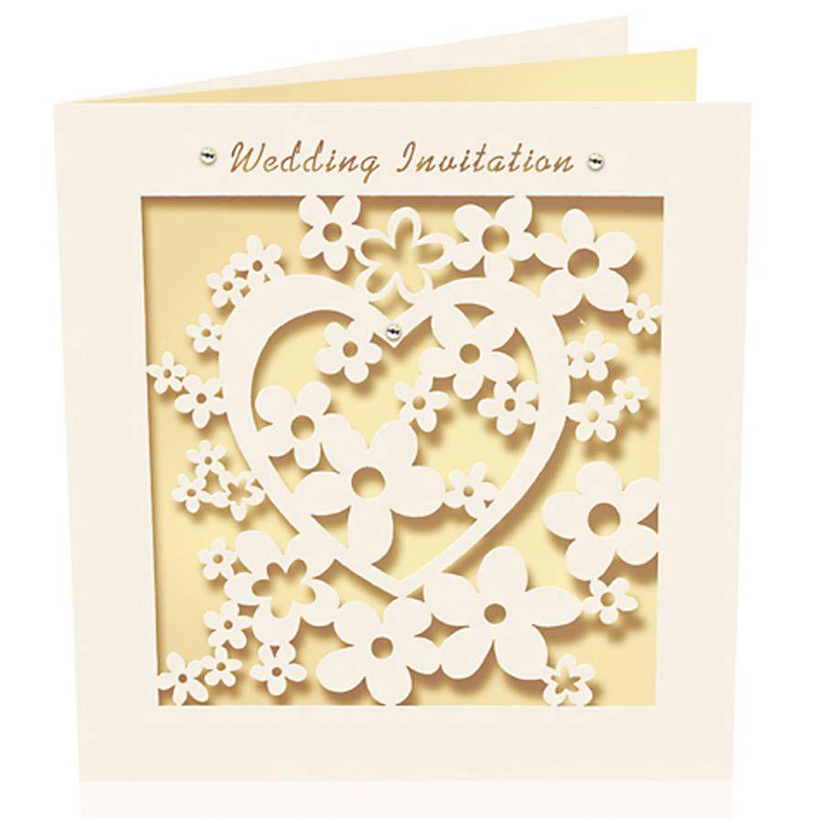 Image result for simple laser cut wedding invitations | Wedding ...