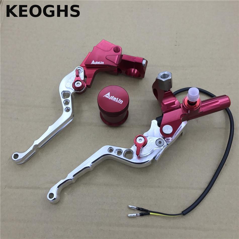 Keoghs Adelin Cnc Brake Master Cylinder Lever 7 8 22mm Universal Handlebar Clutch Lever Brake Pump Lever For Yamaha Scooter