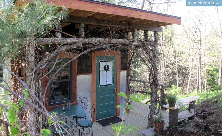 Relaxing Cabin Camping near Asheville, North Carolina