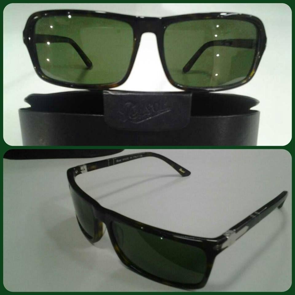 نظارة ماركة بيرسول Persol رجالي باغة اللون بني غامق مجزع أو ديمي براون Demi Brown سعر إفرست للنظارات 250 ج م بدلا من السعر الرائج 300 ج Sunglasses Glasses