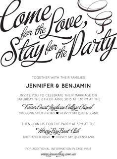 Wedding Invitation Wording On Pinterest