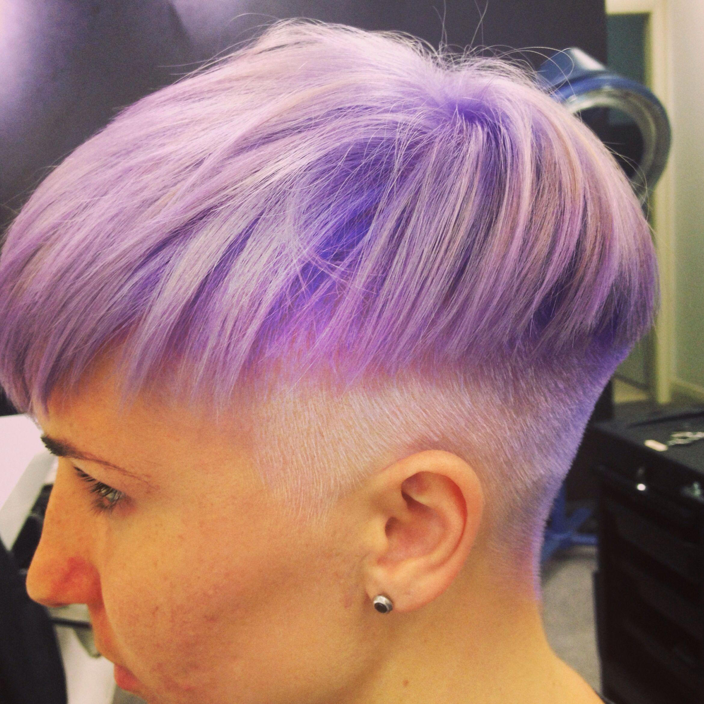 Purpleviolet bowl cut short hairstyles pinterest bowl cut
