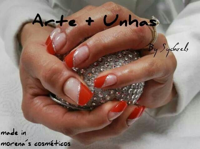 #nailart #nail #unhas decoradas #gel #vermelho #red