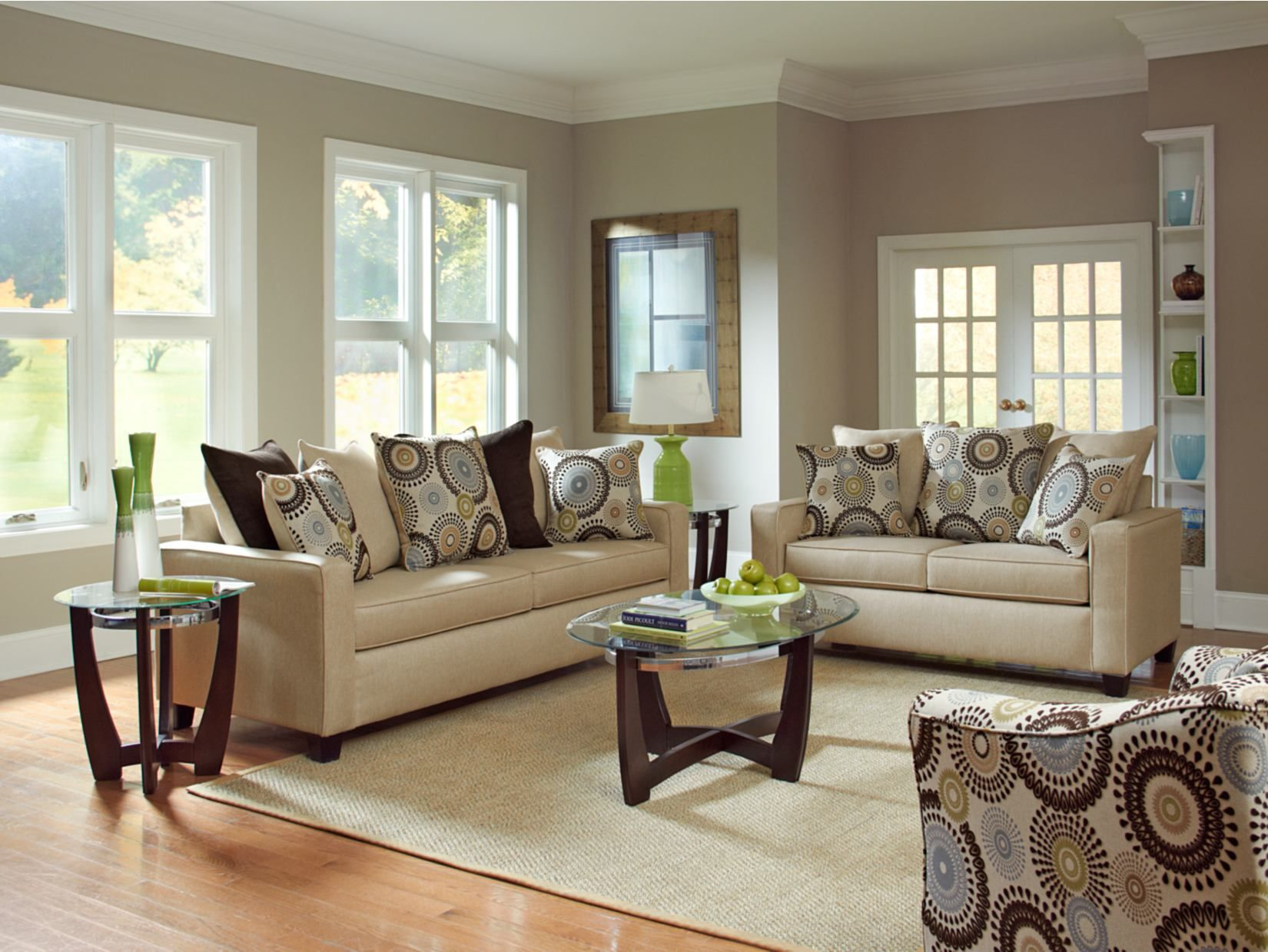 Cream Sofa Living Room Designs Enchanting Stoked Cream Sofa  Value City Furniture  For The Home Design Ideas