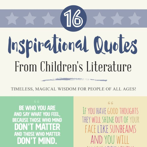 How to Inspire Yourself with 16 Quotes from Children's