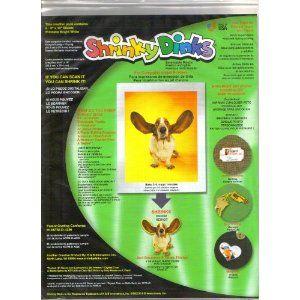 """Shrinky Dinks for Inkjet Printers Refill Paper 6 Sheets 8"""" X 10"""""""