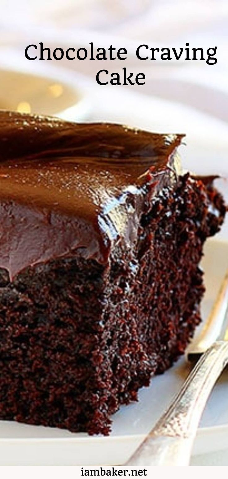 Chocolate cravings cannot be ignored! This perfectly proportioned ...