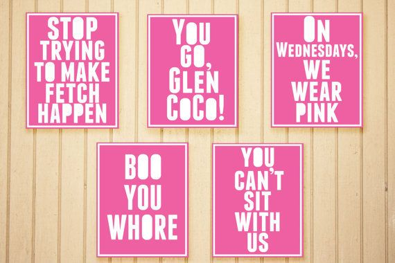 Mean Girls Quote Collection
