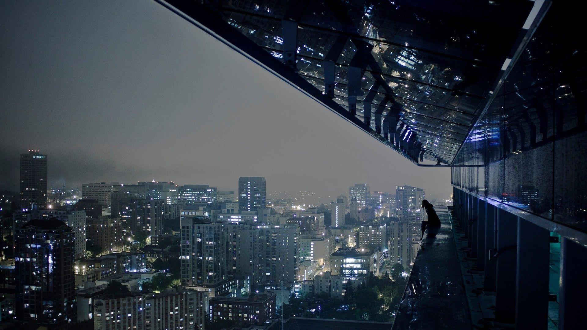 19201080 City Night Lights Hd Wallpaper A Fullhdwpp Full Hd Wallpapers 4k In 2020 City Wallpaper Anime City Rain Wallpapers