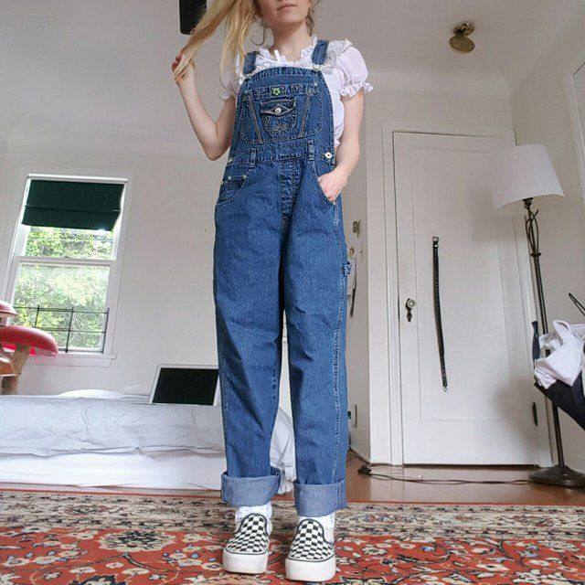 b563885c98f VINTAGE 1990 s OVERALLS 🍒 DETAILS  the perfect