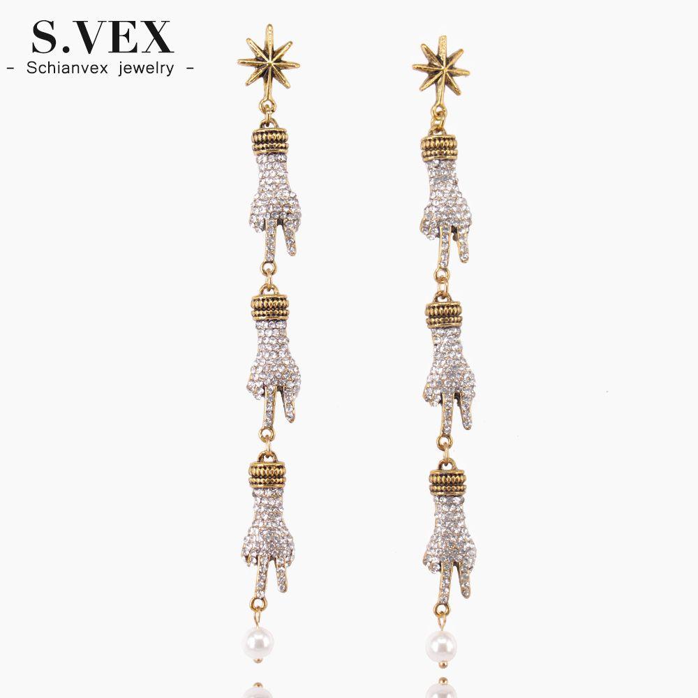 Daesar Gold Plated Earring for Women Earrings Cubic Zirconia Woman Round Red Earrings