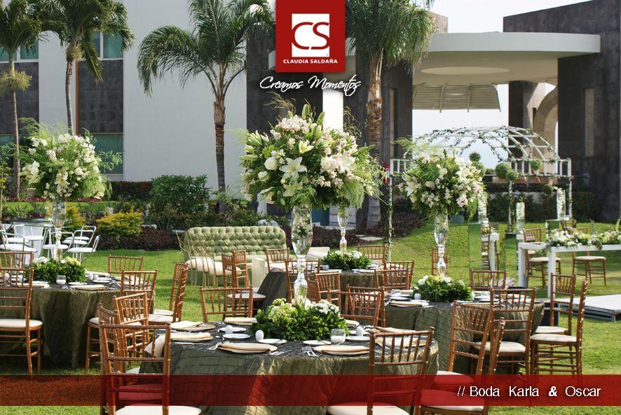 Ideas bodas - Montaje, boda verde. Karla & Oscar
