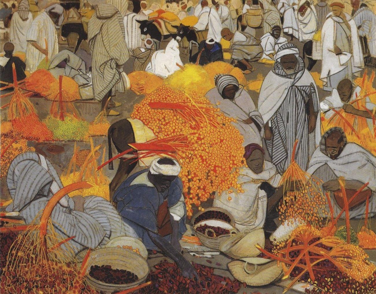 L histoire de la peinture en tunisie chez zeryeb for Miroir tunisien