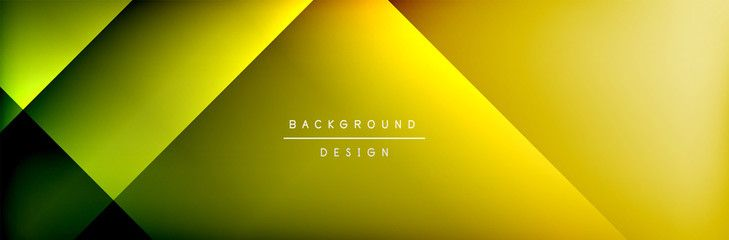 Abstract background - squares and lines composition created with lights and shadows. Technology or business digital template , #AFFILIATE, #lines, #composition, #created, #Abstract, #background #Ad