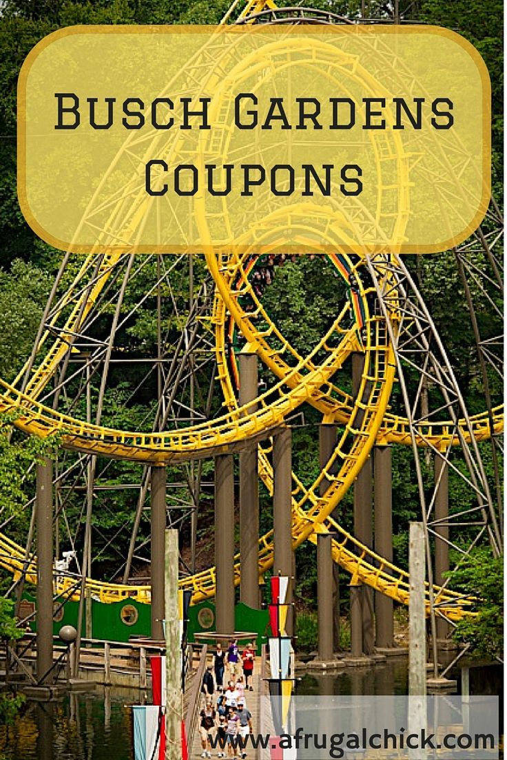 Busch Gardens Williamsburg Tickets Promo Code