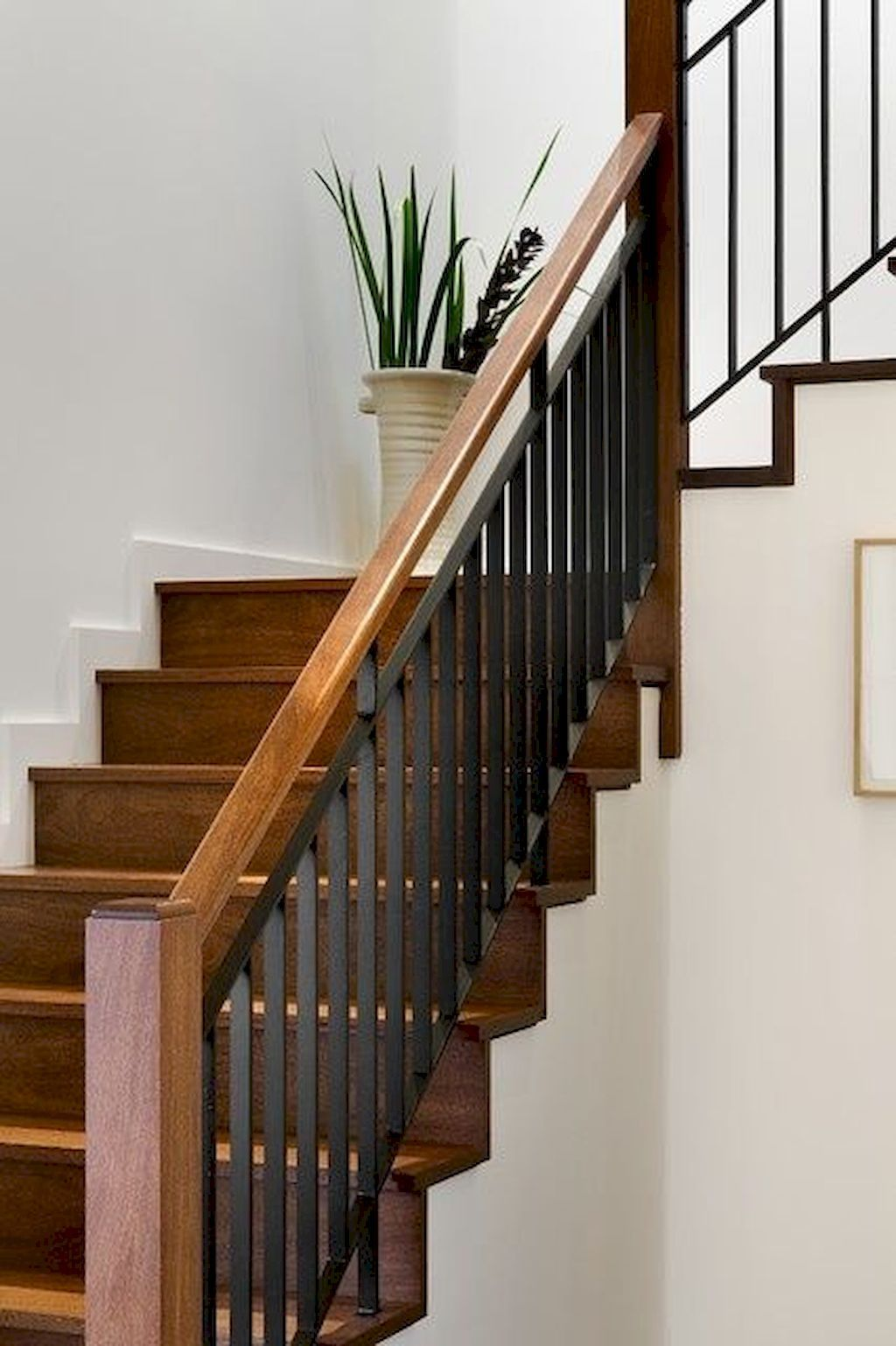 Staircase Railing142 Stair Railing Makeover Modern Stair Railing Modern Stairs