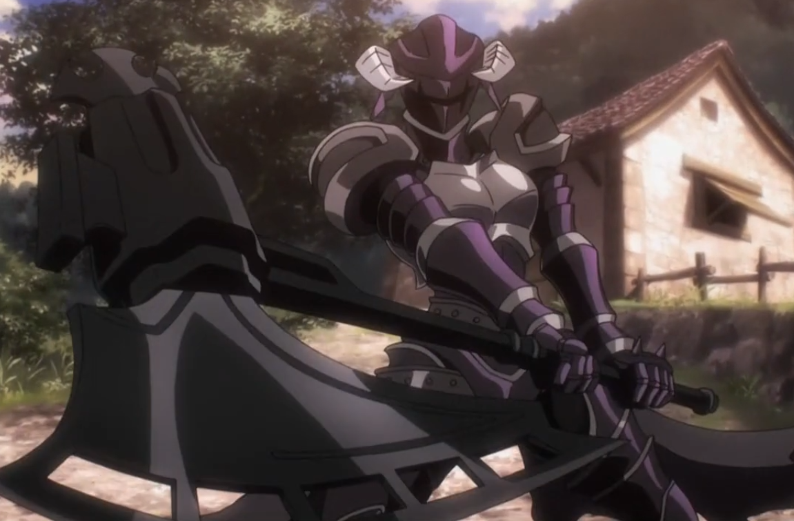 Albedo armor Overlord AnimeMangaVideogame