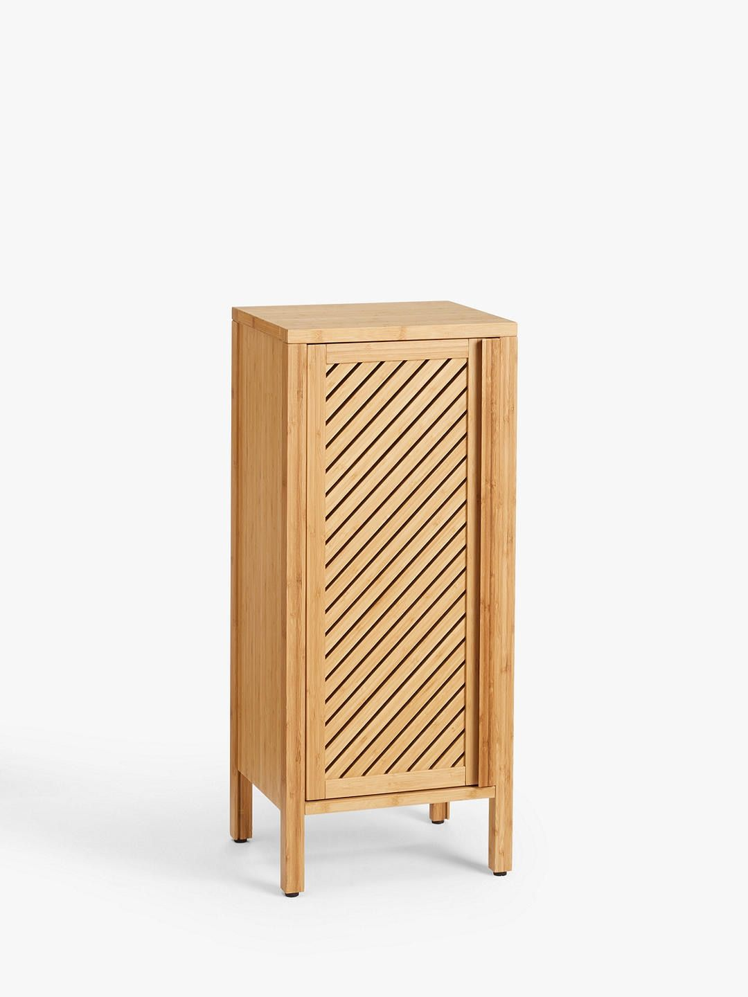 John Lewis Partners Chevron Single Towel Cupboard Natural In 2020 Wood Care Sideboard Cabinet Cupboard