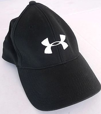 men under armour baseball cap boys armor small black stretch fitted hat youth caps team hats
