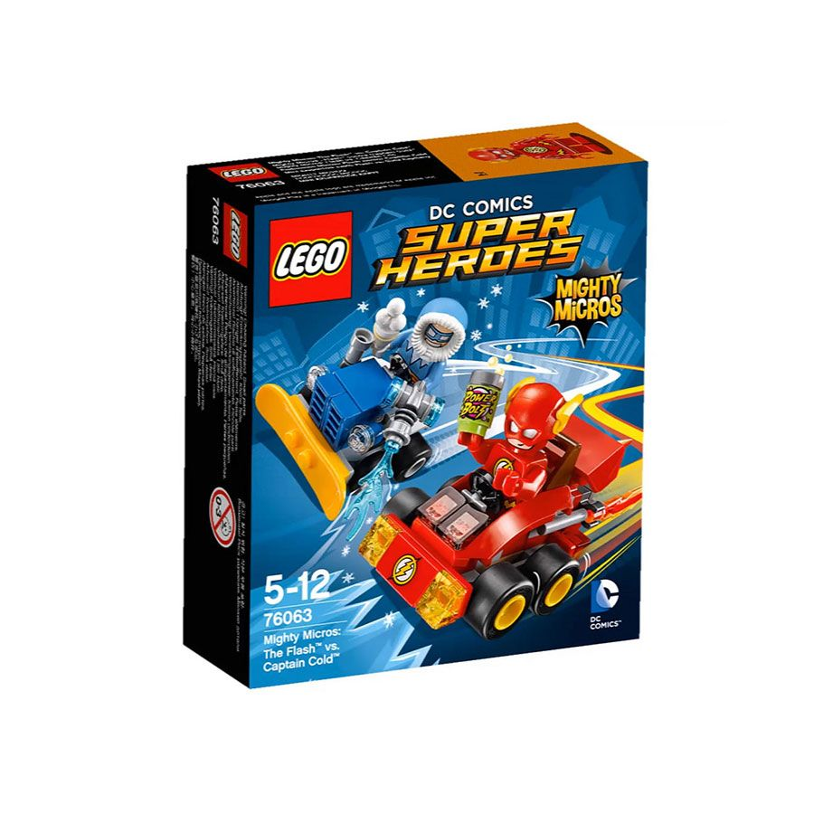 LEGO Super Heroes Mighty Micros The Flash vs. Captain