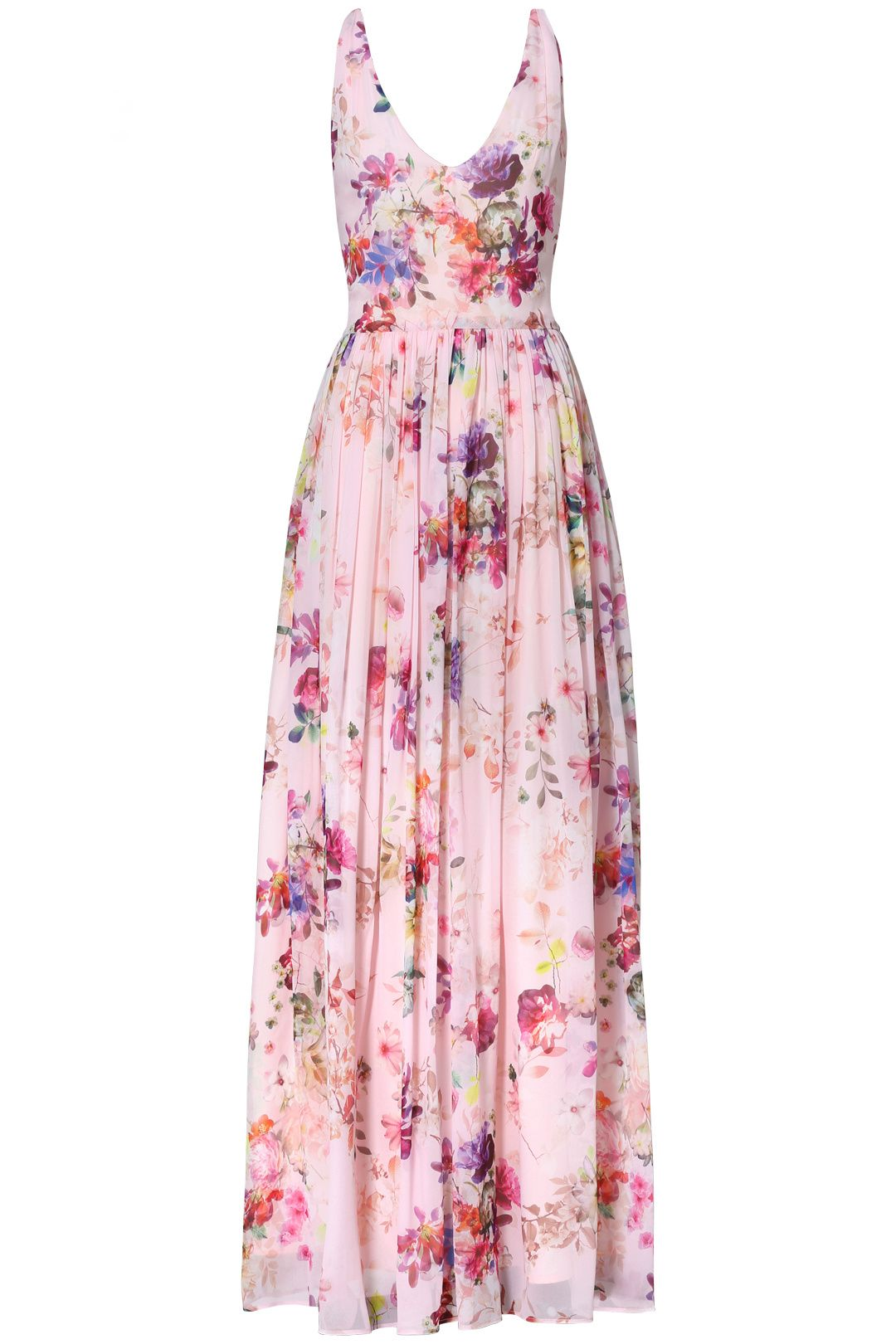 Pink Floral Fields Maxi