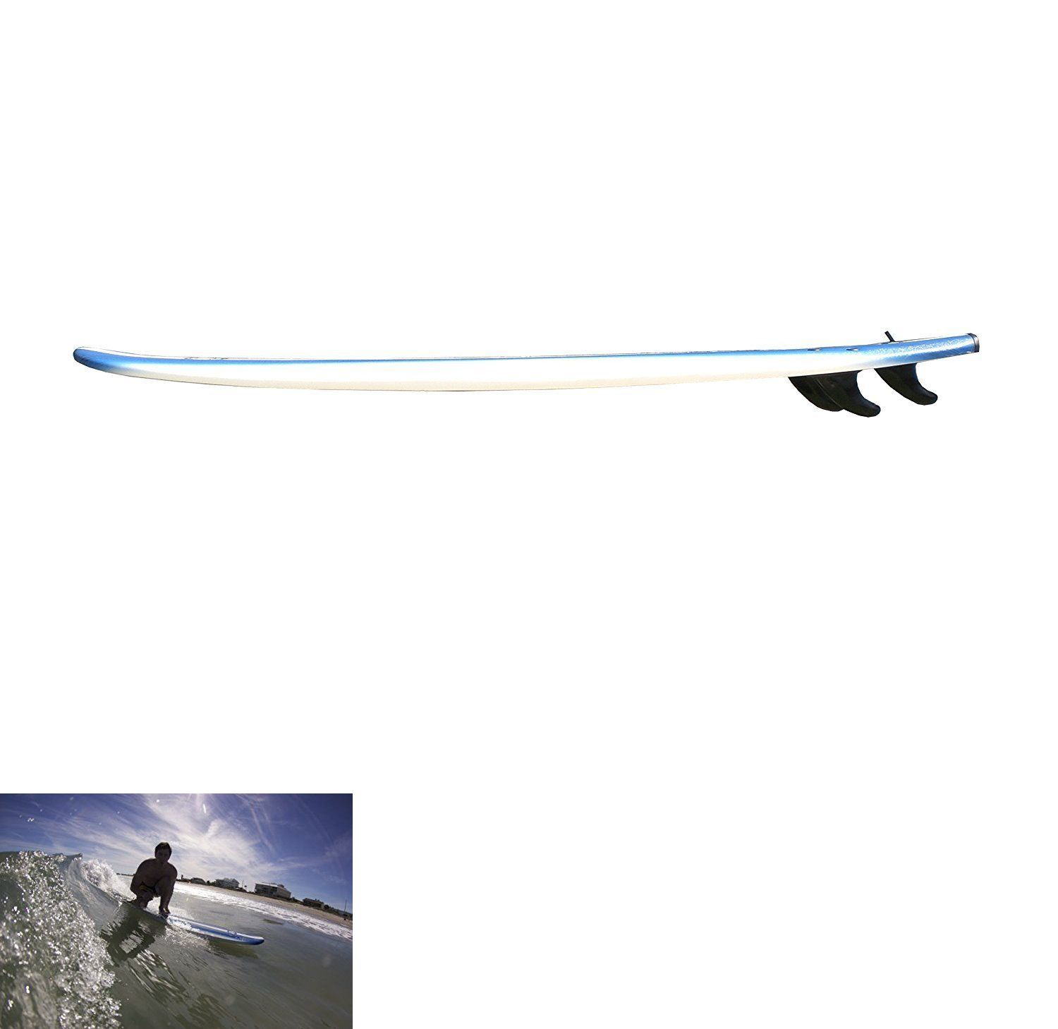 Surfboards 22710: Surfboard 8 Feet Surfing Beach Fun Playing Waves Beginners Gift Durable Stable -> BUY IT NOW ONLY: $207.65 on eBay!
