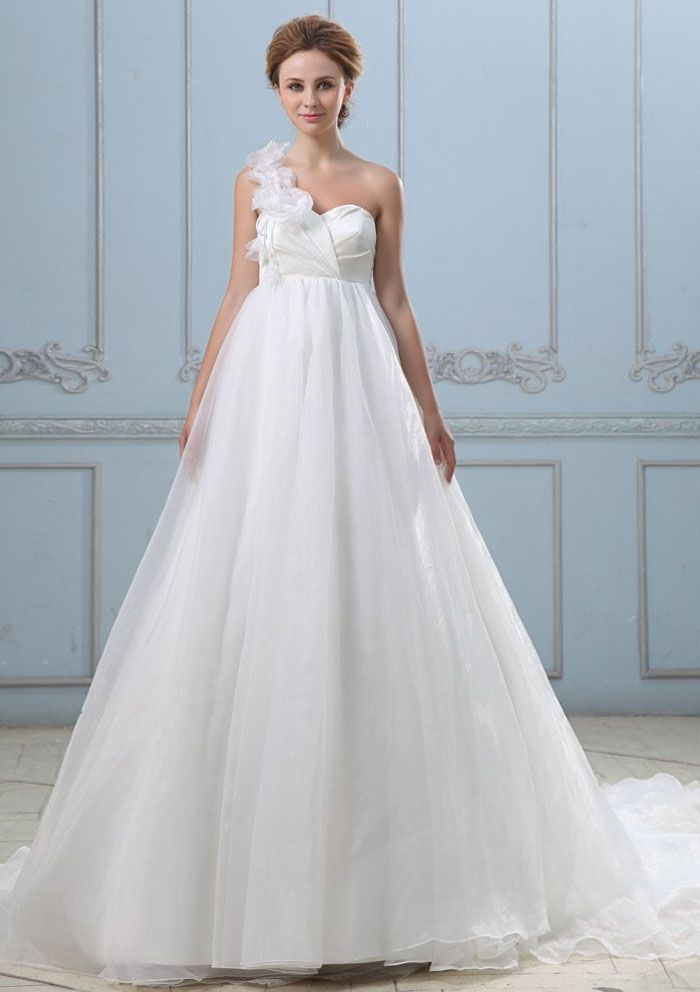 Elegant Wedding Dresses for Pregnant Brides | Vestidos de novia ...