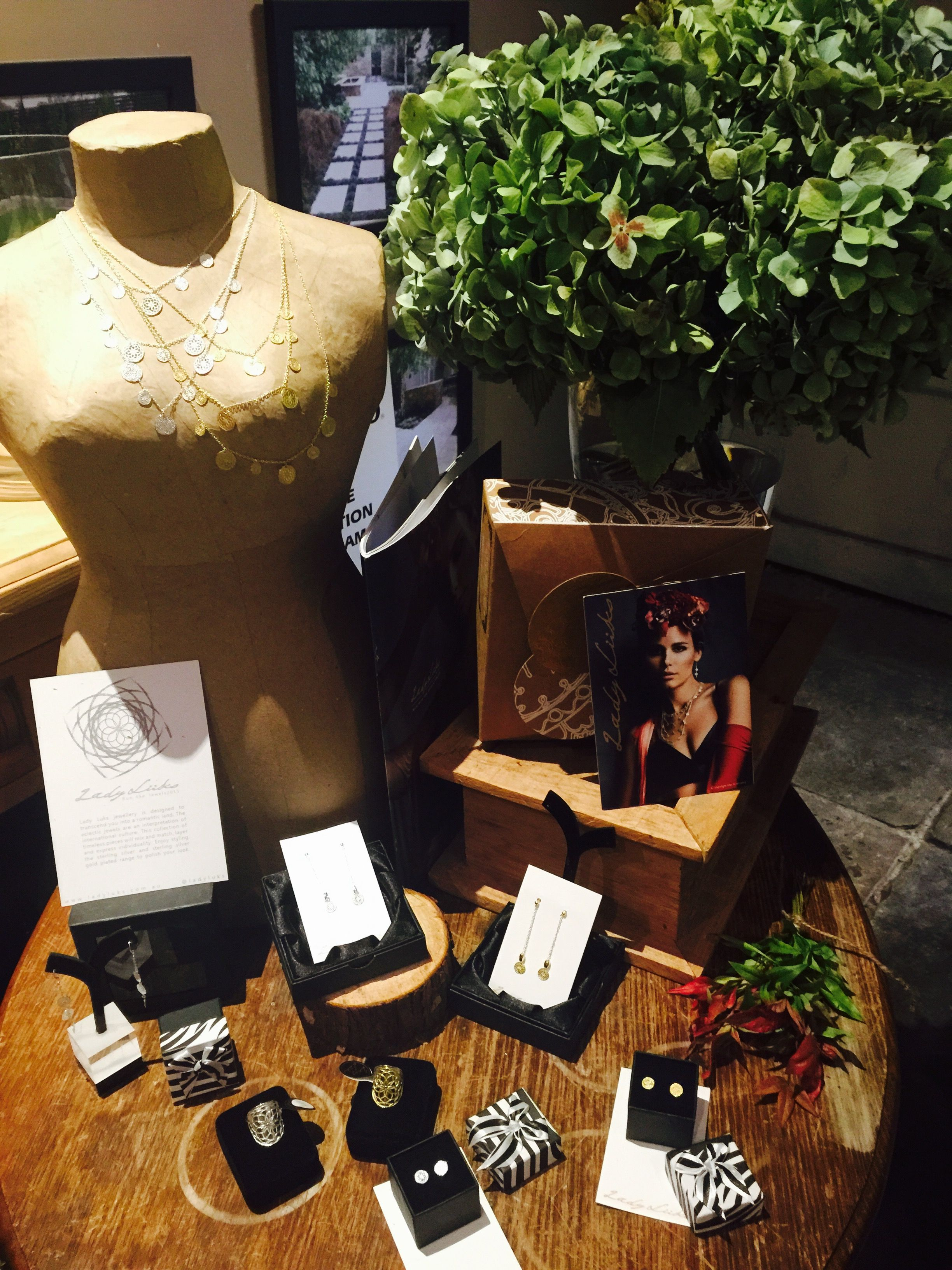 Beautiful LadyLuks jewellery spotted at our delightful