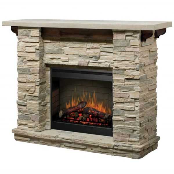 featherston stone electric fireplace rustic feel and electric rh pinterest co uk Fake Fireplaces That Look Real Fake Fireplace Heaters