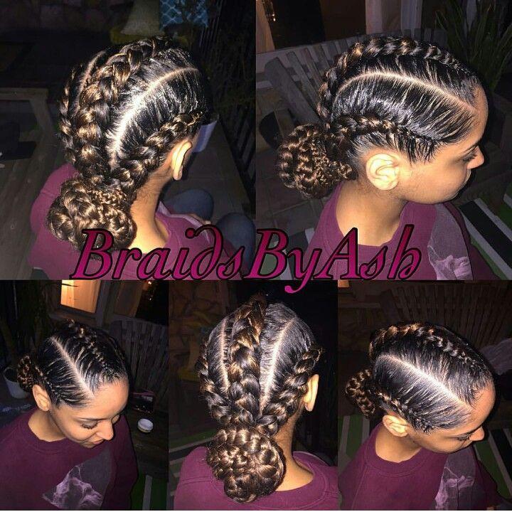 3 Big Braids Cool Braid Hairstyles Lil Girl Hairstyles Braided Hairstyles