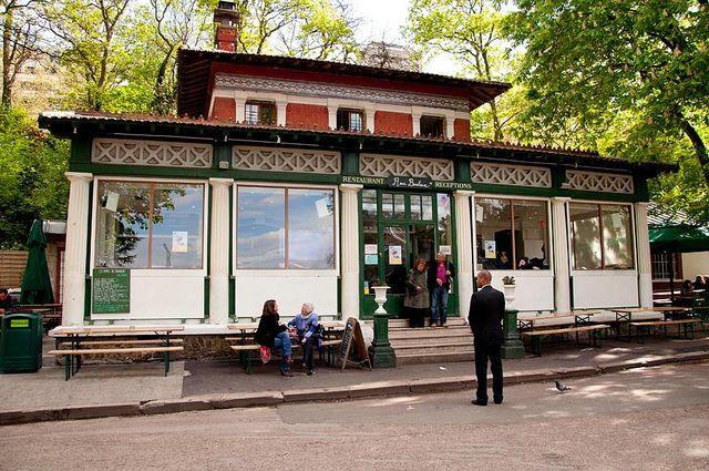 La Guinguette Rosa Bonheur, Parc des Buttes-Chaumont, Paris 19e