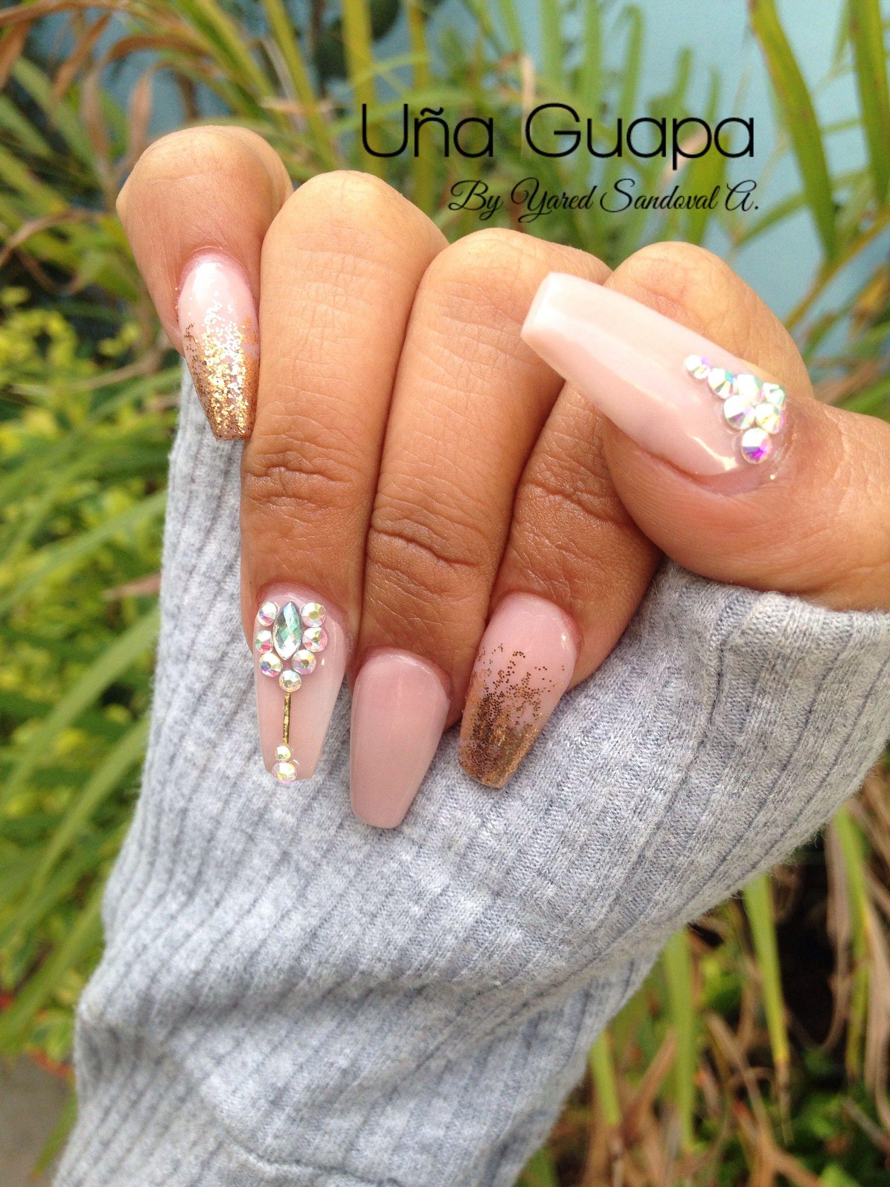 Uñas Acrílicas bonitas | Nails | Pinterest | Uñas acrílico y Bonitas