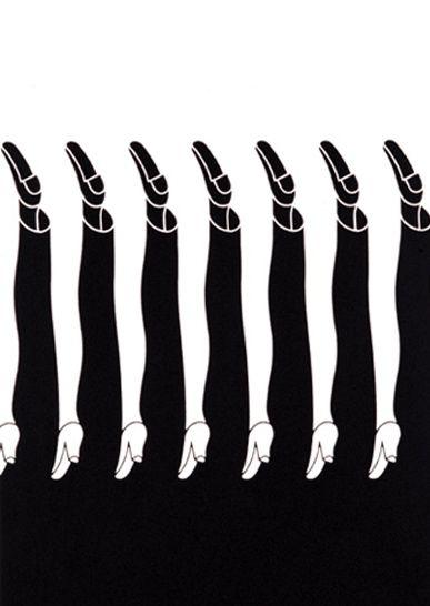 Shigeo Fukuda. #graphic #design