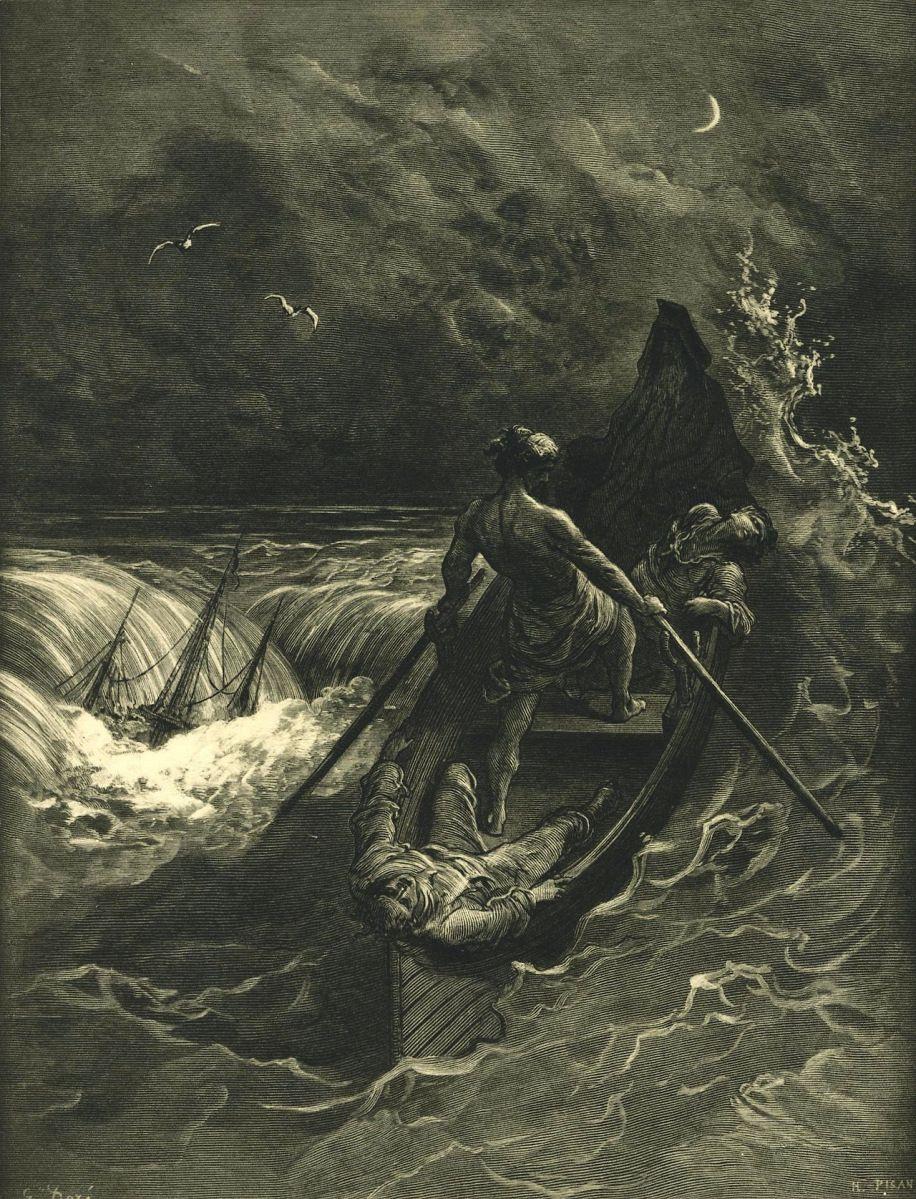 Un Descenso Al Maelström Edgar Allan Poe Cuentos Arte
