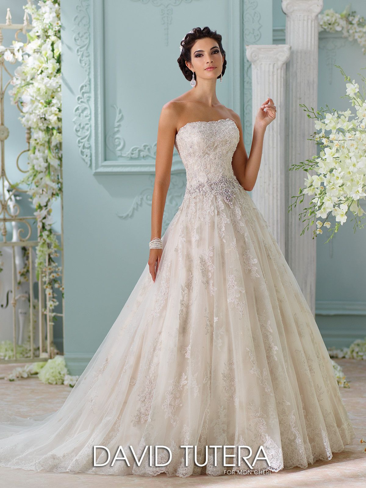 David Tutera Couture - Jelena - 116230 - All Dressed Up, Bridal Gown ...