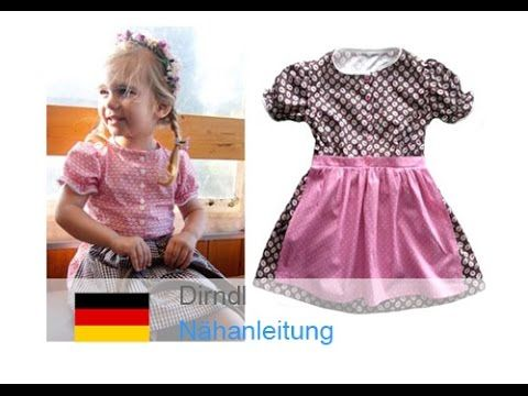 dirndl trachtenkleid kleid mit sch rze selber n hen schnittmuster kinderdirndl von. Black Bedroom Furniture Sets. Home Design Ideas