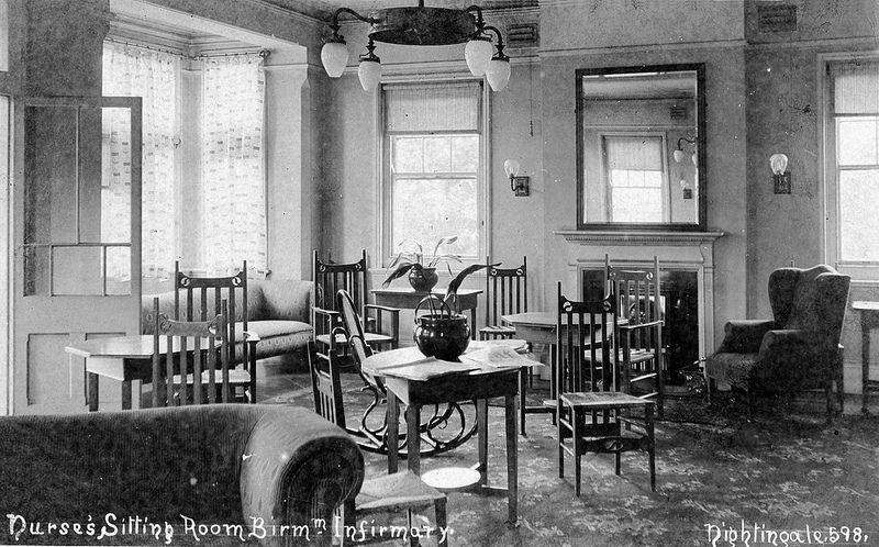 Birmingham Infirmary, Nurses' Sitting Room Old hospital