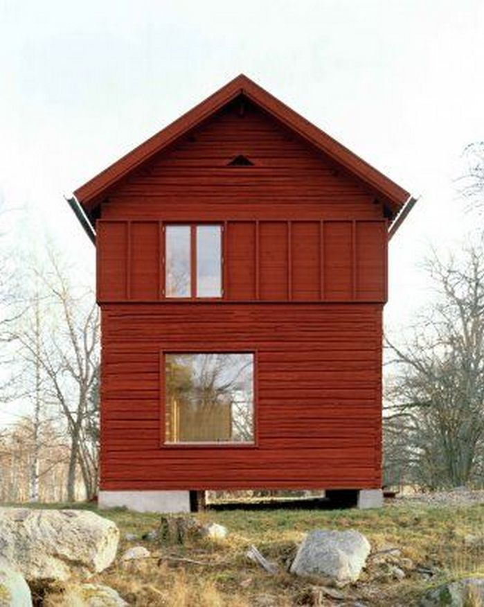 50+ Scandinavian House Exterior Design_51