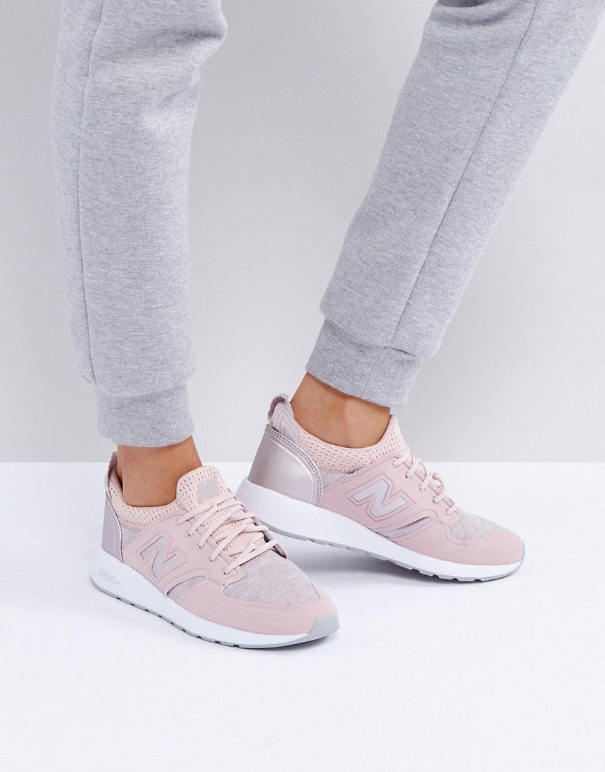 Buy it now. New Balance 420 Trainers With Rose Gold Trim In ...