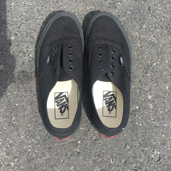 Black Vans   Black vans, Vans, Black