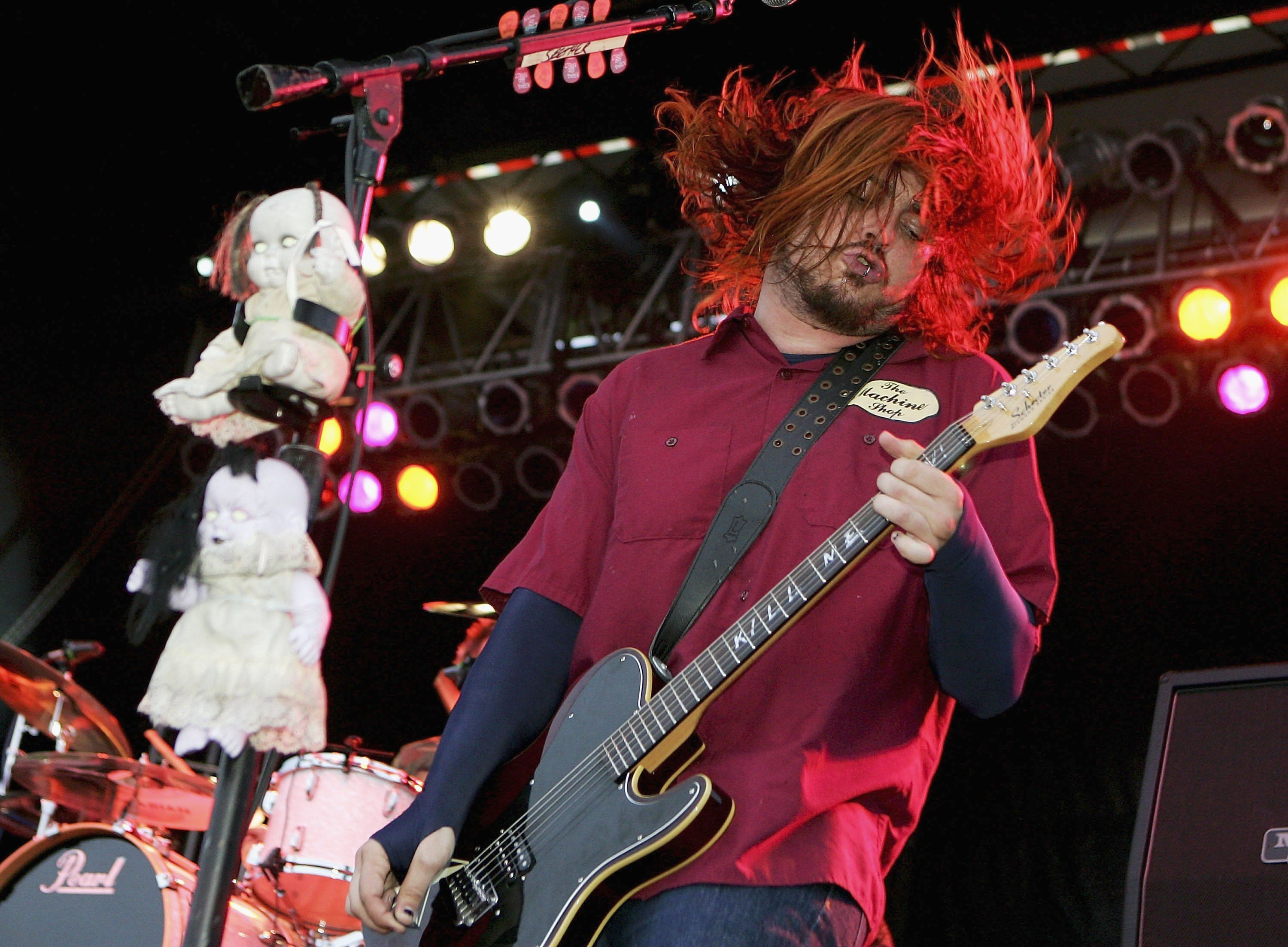 Seether Shaun Morgan Singer Red White And Boom