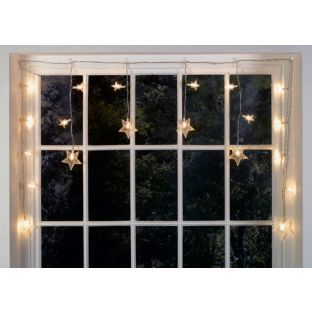 Buy 6 Star Window Christmas Decoration Lights Clear At Argos Co Uk Your Decorating With Christmas Lights Christmas Window Decorations Christmas Decorations