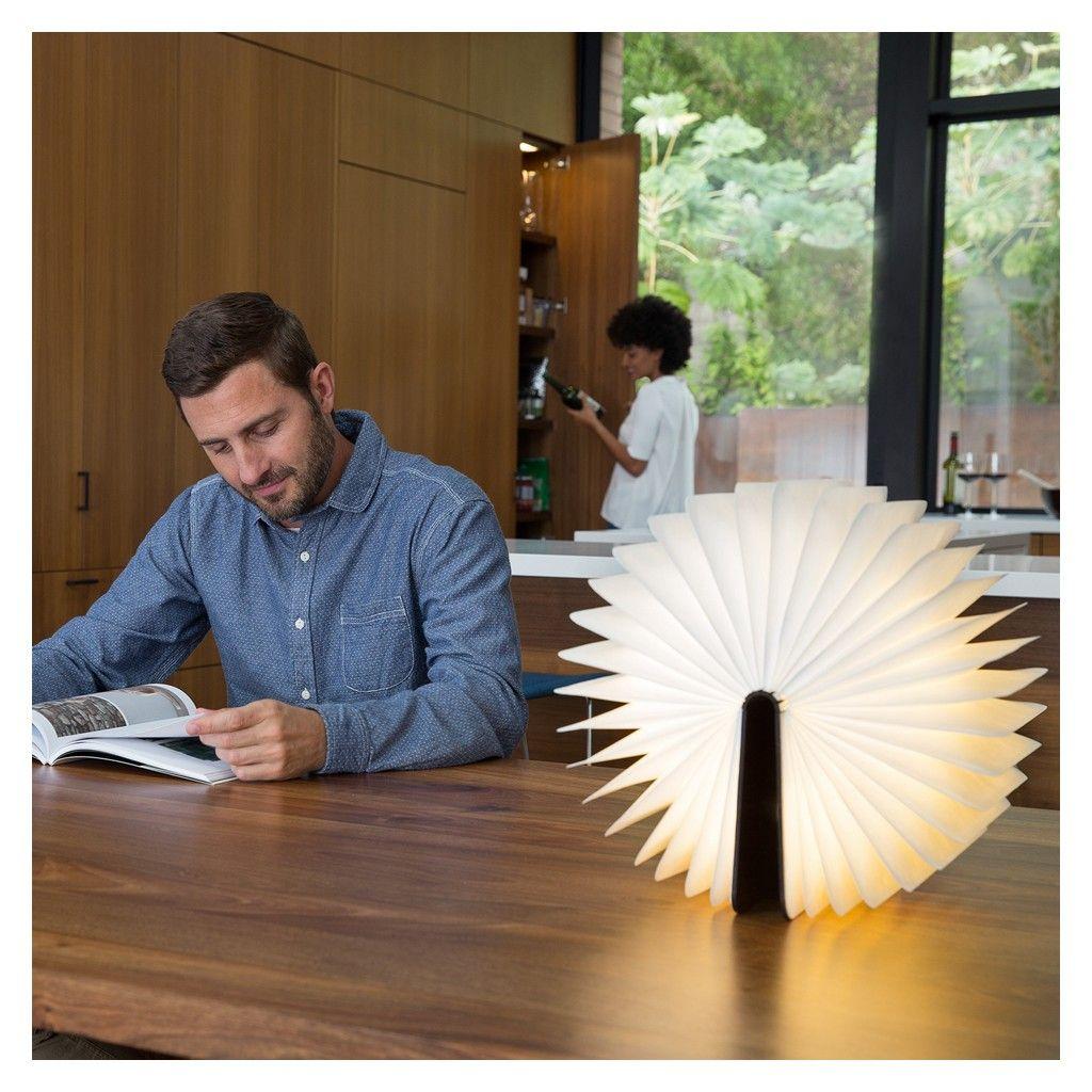 lampe livre lumio couverture en noyer fonc the conran shop luminaires book lamp interior. Black Bedroom Furniture Sets. Home Design Ideas